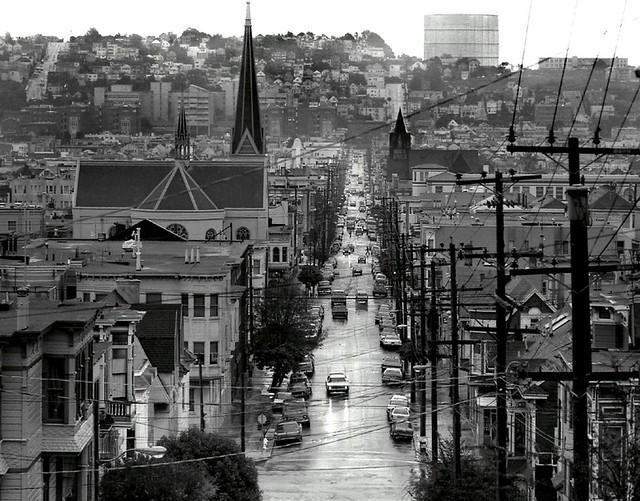 Mission district,  San Francisco 1985