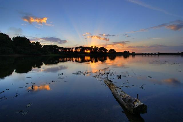 Reservoir Sunset 1