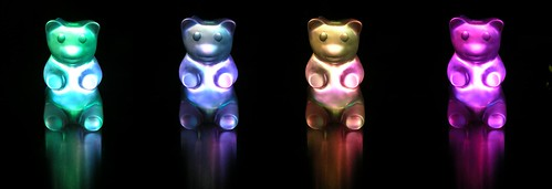Update: Gummy bear now changes colors! | by kowitz