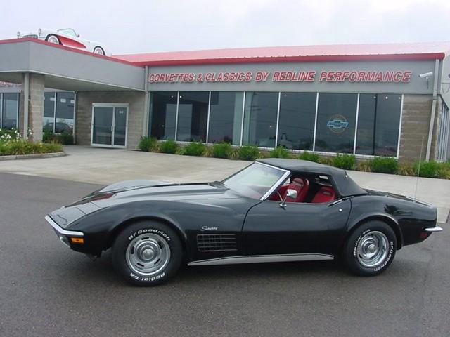 1972 Black Chevy Corvette Stingray