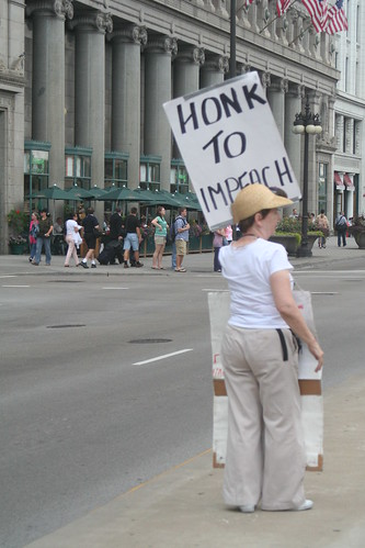 Honk to impeach Bush | by Julie A Segraves