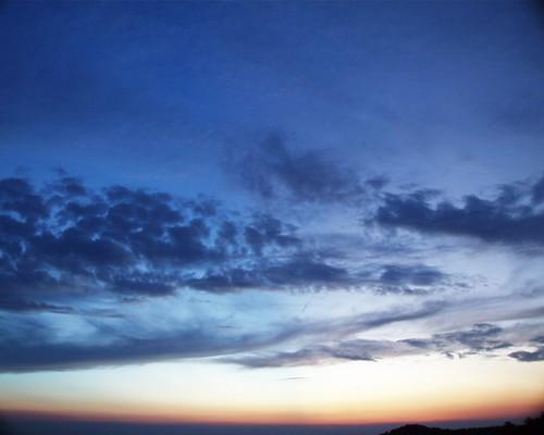sunset sky usa mountain ga georgia blairsville brasstownbald