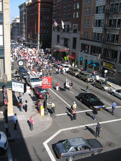 Downtown Portland Protest 4