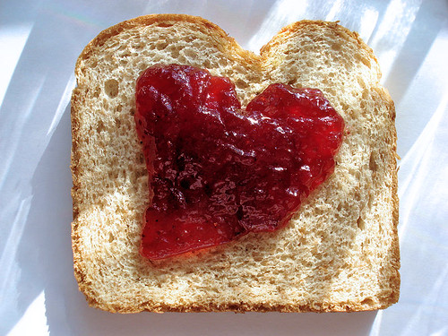 Jelly Sandwich Heart (Blood Sugar Low?) | by Bob.Fornal
