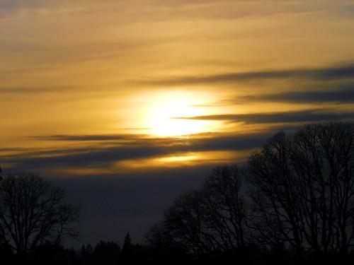 trees sunset sky sun clouds geotagged evening skyshots geo:lat=44806107 geo:lon=122786164 colororangered