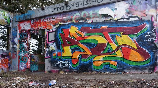 Oldenburg - (street: Melkbrink) 439th picture / Graffiti, street art