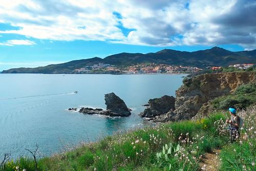 paysage pyrénéesorientales méditerranée mer sentier sentierdulittoral xe1 fuji fujifilm fuji1855mmf284rlmois banyuls