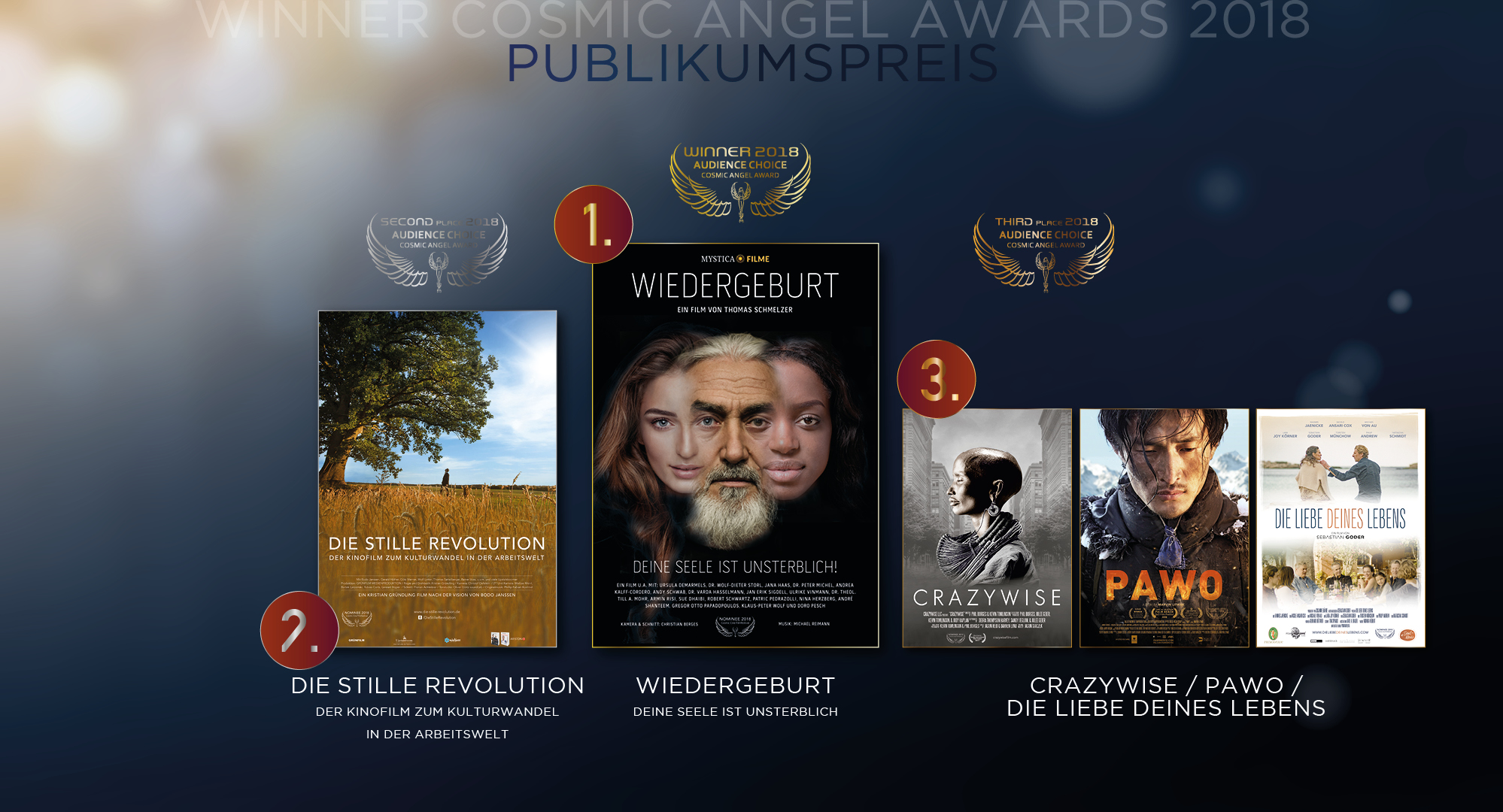 Cosmic Cine - Winner Cosmic Angel Audience Choice Award - Publikumspreis