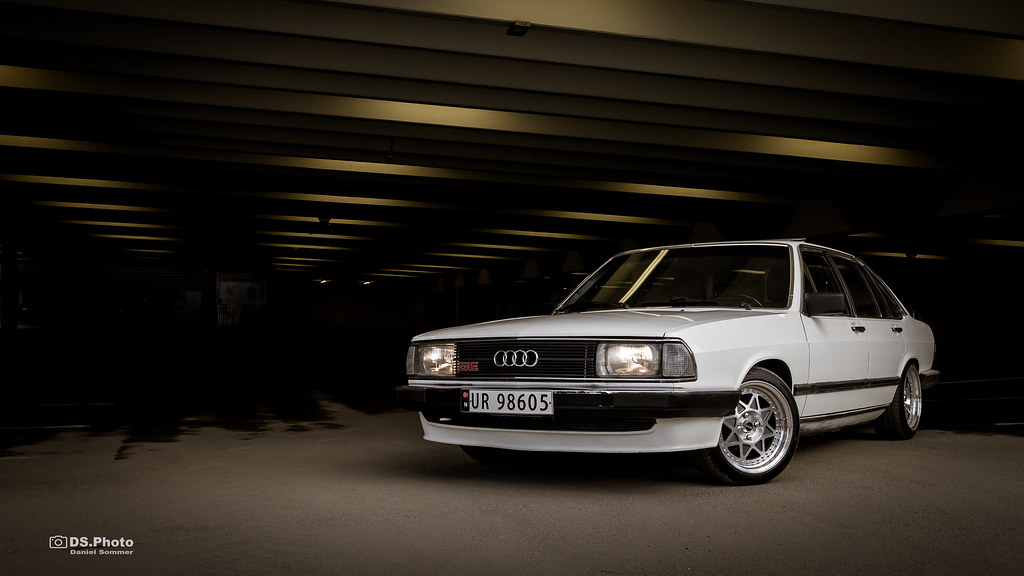 Audi 100 5E   1982 Audi 100 5E (C2) Typ 43   Daniel Sommer ...