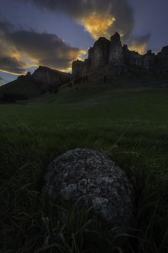beehive may cliff evening landscape nye portfolio rocks spring stillwater sunset summer clouds sky color warm cliffs outdoor windy grass field rustic