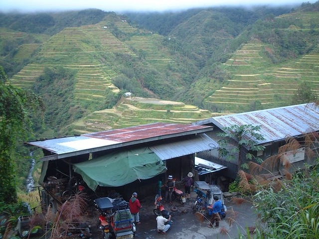 Ifugao rice terrace in Banaue, Philippines