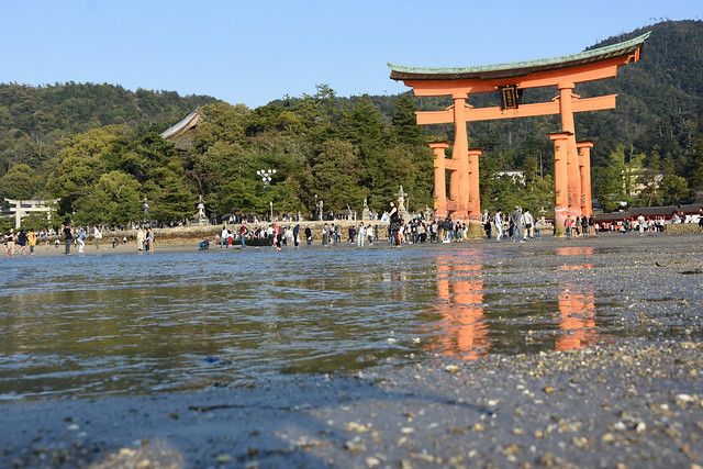 Miyajima - Itsukushima Shrine Torii