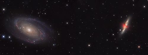M81 & M82 - Bode's & Cigar Galaxies