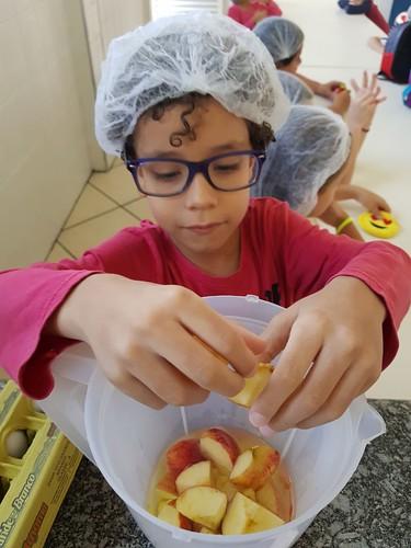 Culinária: bolo de maçã - Integral (abr/2018)