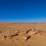 Al-rajajil standing stones the stonehenge of saudi arabia, Al-Jawf Province, Sakaka, Saudi Arabia
