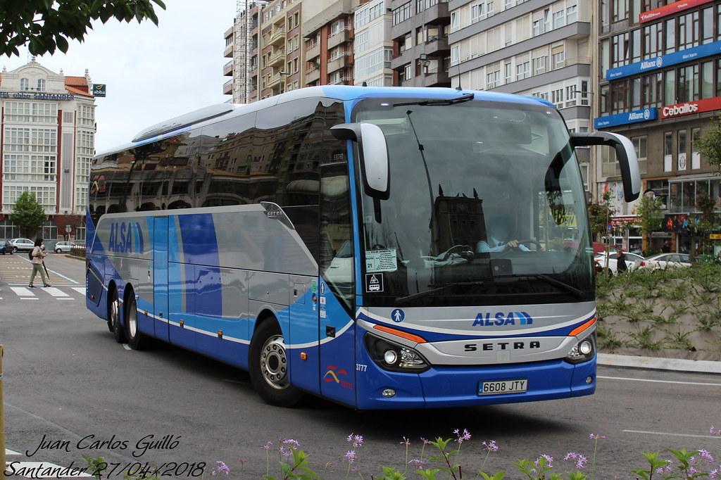 ALSA 3777   Setra S 517 HD de Alsa cubriendo el trayecto Gij…   Flickr