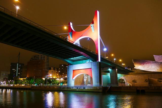 Arrivée sur Bilbao