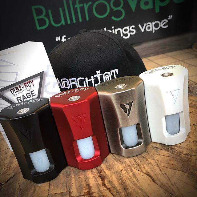 They're here! The OhmBoy OC RAGE Squonk Mods have arrived