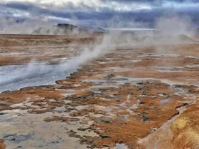 Islandia en un país con mucha actividad volcánica