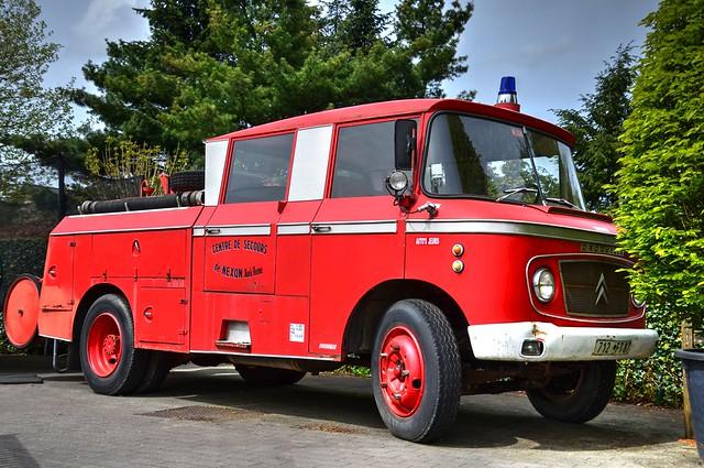 Citroën 46 CD brandweerwagen | ladderwagen