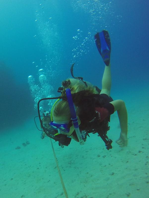 Sarah Diving, Roatan