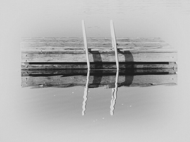 Swimming Platform, lake, Ontario, Canada