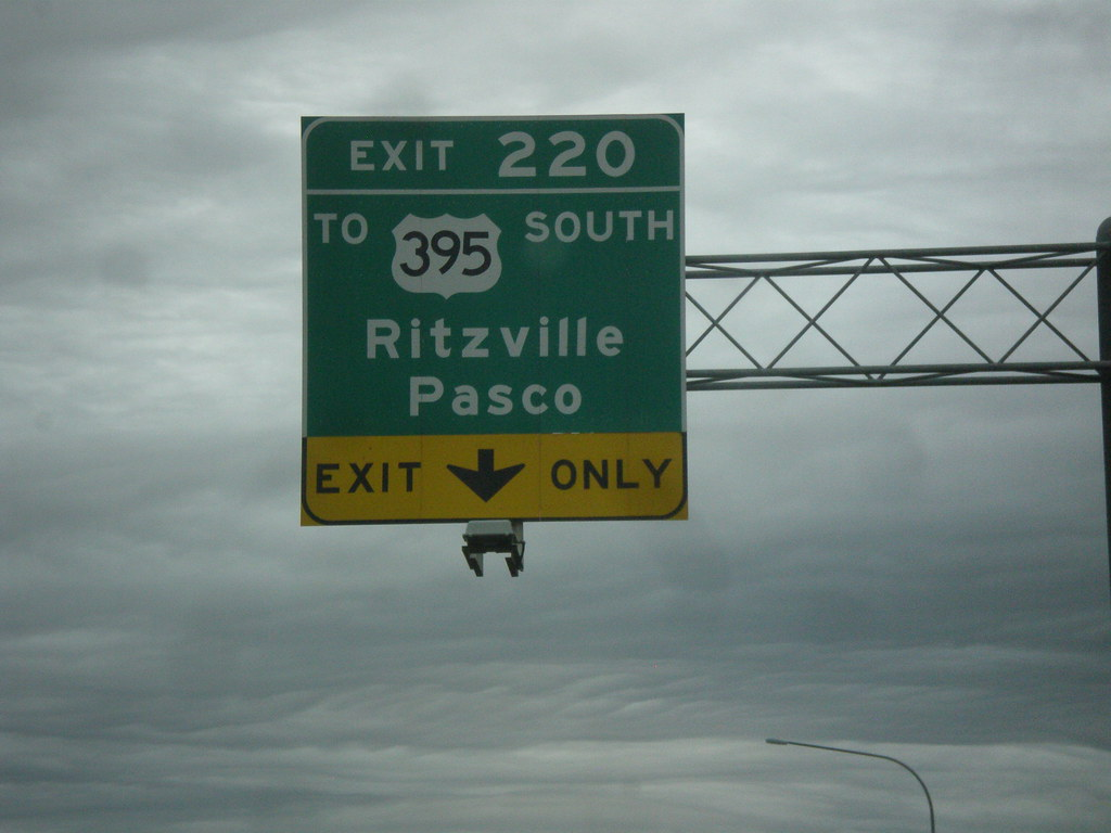I 90 Westus 395 South Exit 220 I 90 Westus 395 South A Flickr - Us-interstate-90-map
