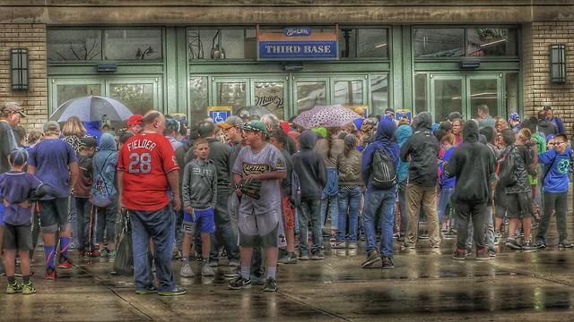 Rainy Day At The Ball Park