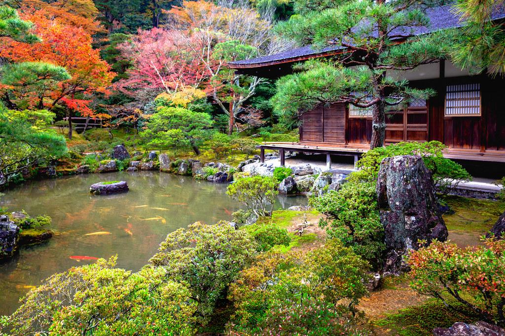 Japanese Garden In Ginkakuji Temple Kyoto Japan Shutterst Flickr