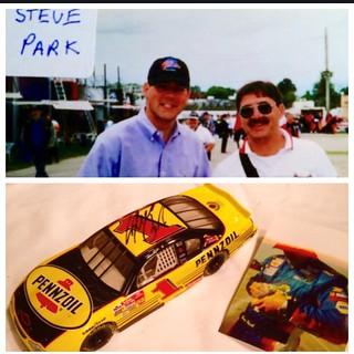 NASCAR, Steve Park, #1, Pennzoil,