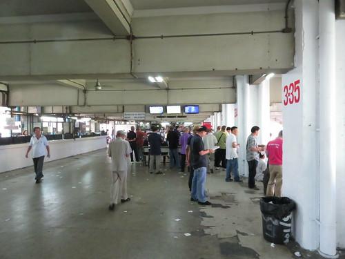 ロイヤルターフクラブ競馬場の3階