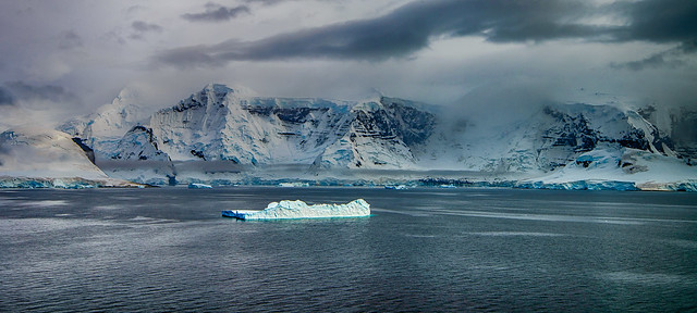 Blue Ice, Antartica Peninsula