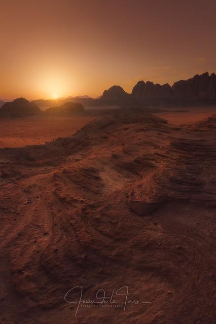 Landing in Mars