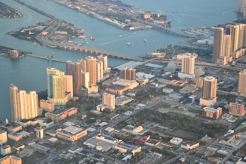 Aerial View of Miami, North of Downtown | by mplstodd