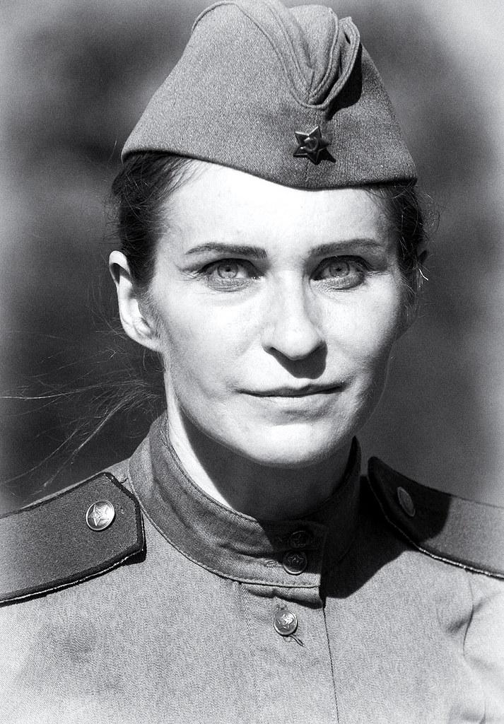 Women's portrait | WW2 reenactment in St Petersburg | Alex