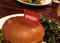 Impossible Burger at Hell's Kitchen, Minneapolis