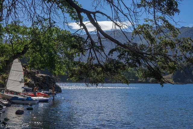 Laguna Icalma. Araucanía Andina. Chile. 2018