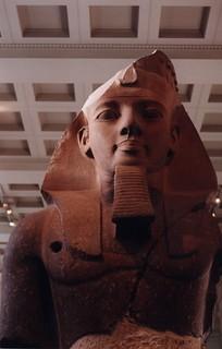 Colossal Bust of Pharaoh Ramesses II, British Museum, London