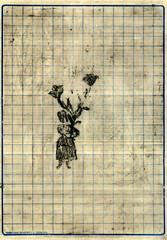 Christophe Lezaire (1963)<br /> Congratulations, 2005<br /> gemengde technieken 17x23,3 cm