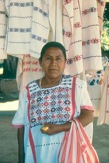 Amuzgo woman Oaxaca Mexico