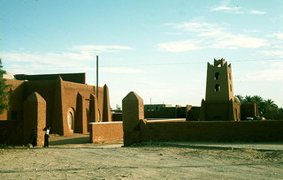 Mud buildings, Adrar