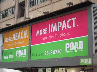 Outdoor advertising | by Dan Landin