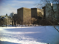 McGill Downtown Campus under the Snow