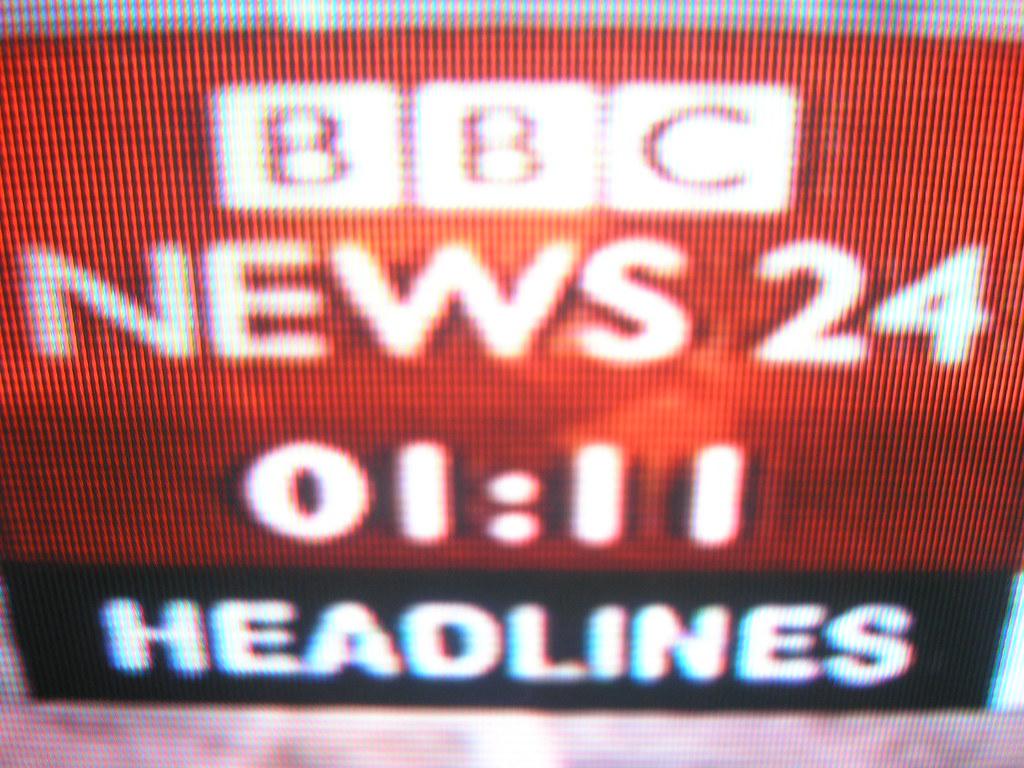 BBC News 24 | at 01:11 | Olly Farrell | Flickr